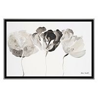 Artissimo Trio In Light Framed Canvas Wall Art