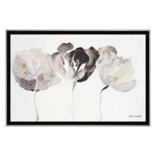 Artissimo Trio In Light Framed Canvas Wall Art