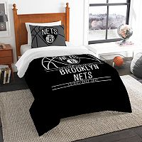 Brooklyn Nets Reverse Slam Twin Comforter Set by Northwest