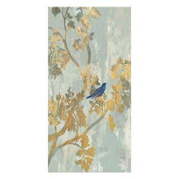 Artissimo Blue Bird Canvas Wall Art