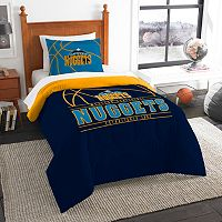 Denver Nuggets Reverse Slam Twin Comforter Set by Northwest