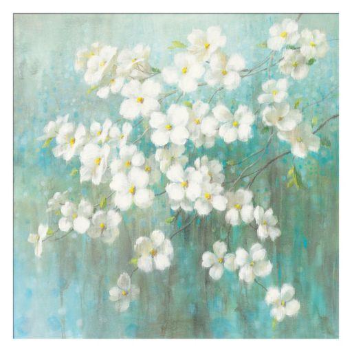 Artissimo Spring Dream I Abstract Canvas Wall Art