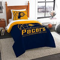 Indiana Pacers Reverse Slam Twin Comforter Set by Northwest