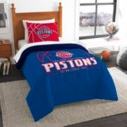 Detroit Pistons Reverse Slam Twin Comforter Set by Northwest
