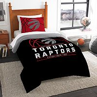 Toronto Raptors Reverse Slam Twin Comforter Set by Northwest