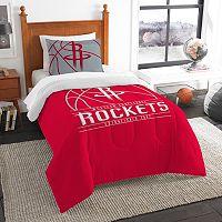 Houston Rockets Reverse Slam Twin Comforter Set by Northwest