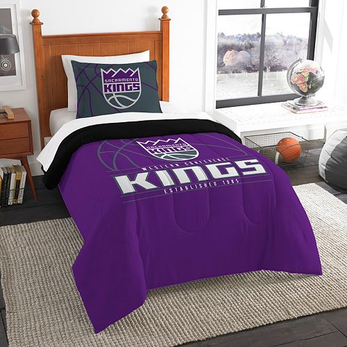 Sacramento Kings Reverse Slam Twin Comforter Set by Northwest