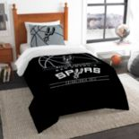 San Antonio Spurs Reverse Slam Twin Comforter Set by Northwest