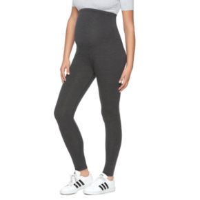 Maternity a:glow Belly Panel Solid Leggings