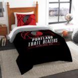 Portland Trail Blazers Reverse Slam Twin Comforter Set by Northwest