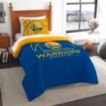 Golden State Warriors Reverse Slam Twin Comforter Set by Northwest