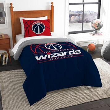 Washington Wizards Reverse Slam Twin Comforter Set by Northwest