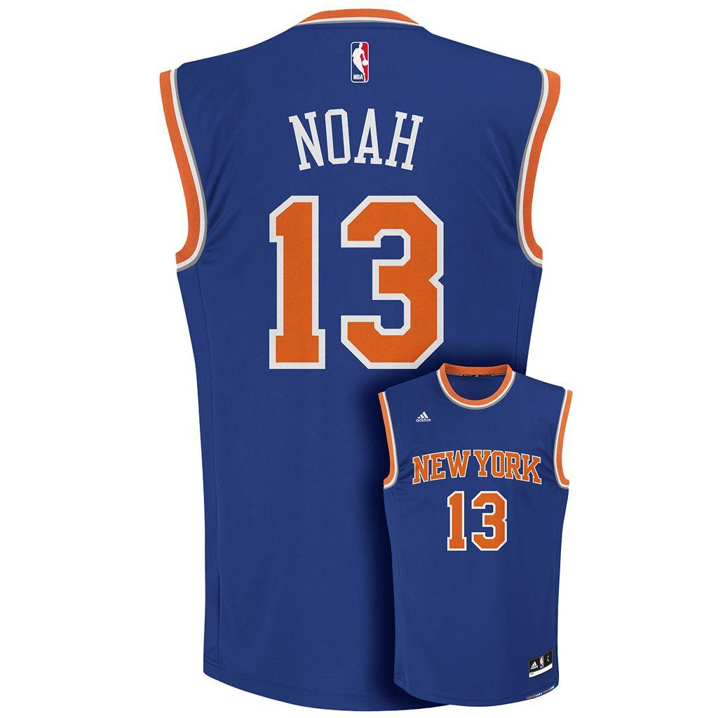 Men's adidas New York Knicks Joakim Noah NBA Replica Jersey
