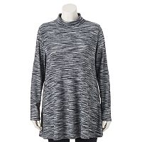 Juniors' Plus Size HeartSoul Turtleneck Tunic