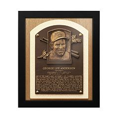 Cincinnati Reds Sparky Anderson Baseball Hall of Fame Framed Plaque Print