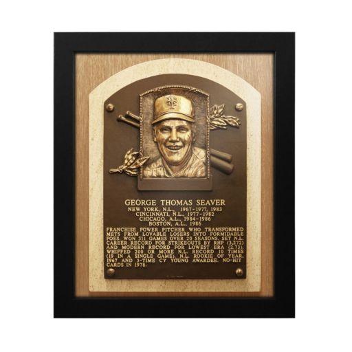New York Mets Tom Seaver Baseball Hall of Fame Framed Plaque Print