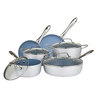 Chopped 10 pc Brushed Cookware Set