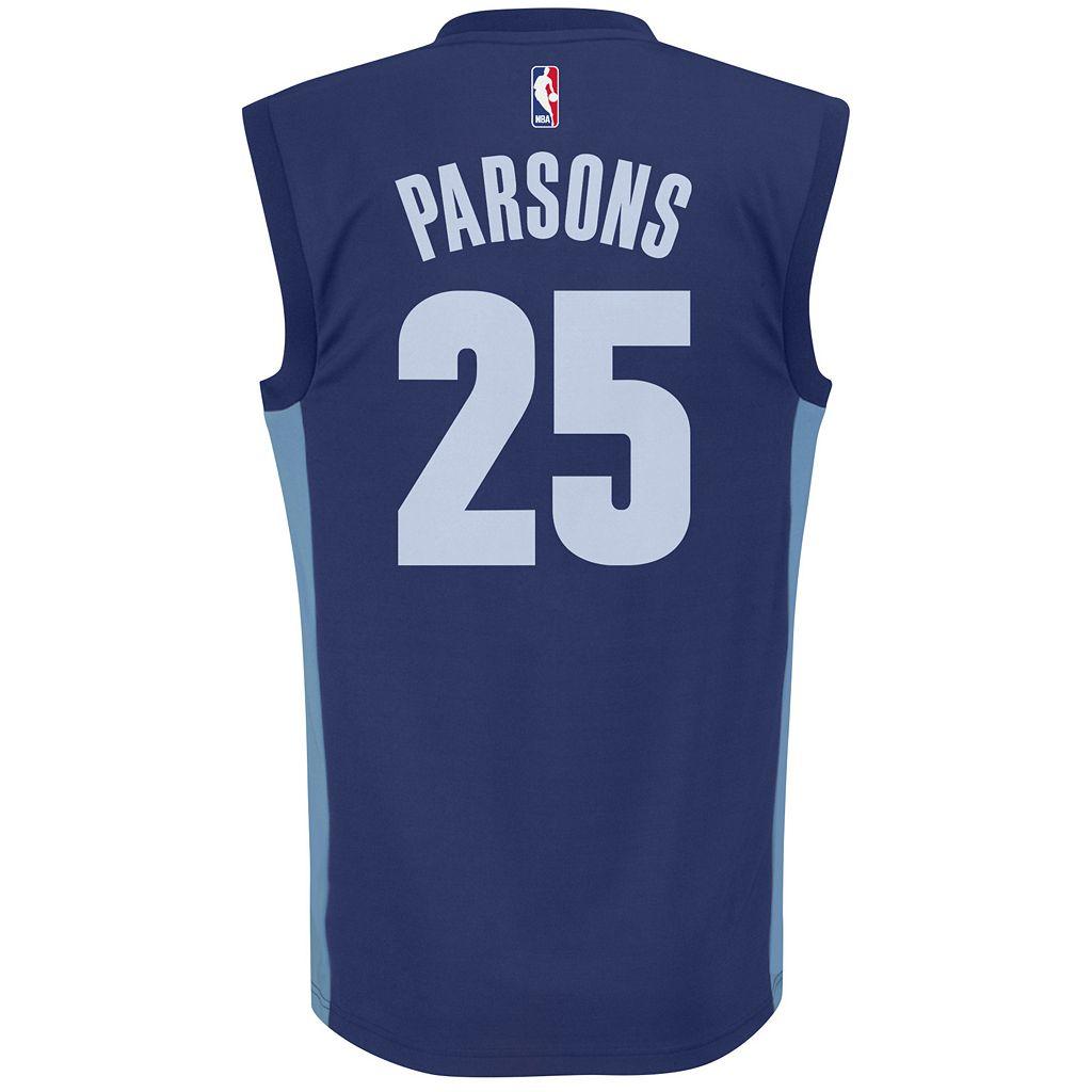 Men's adidas Memphis Grizzlies Chandler Parsons NBA Replica Jersey