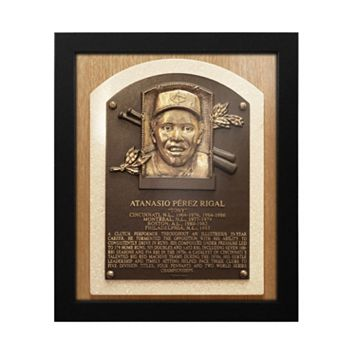 Cincinnati Reds Tony Perez Baseball Hall of Fame Framed Plaque Print