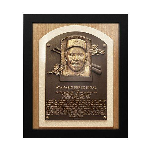 Cincinnati Reds Tony Perez Baseball Hall of Fame Framed Plaque Print