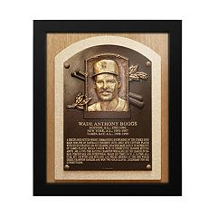 Boston Red Sox Wade Boggs Baseball Hall of Fame Framed Plaque Print