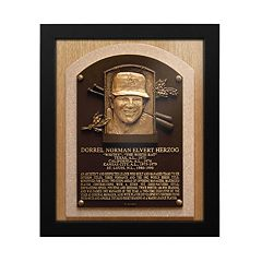 St. Louis Cardinals Whitey Herzog Baseball Hall of Fame Framed Plaque Print