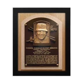 St. Louis Cardinals Whitey Herzog Baseball Hall of Fame Framed Plaque Print
