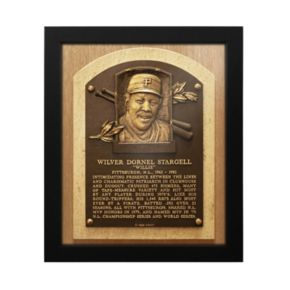 Pittsburgh Pirates Willie Stargell Baseball Hall of Fame Framed Plaque Print