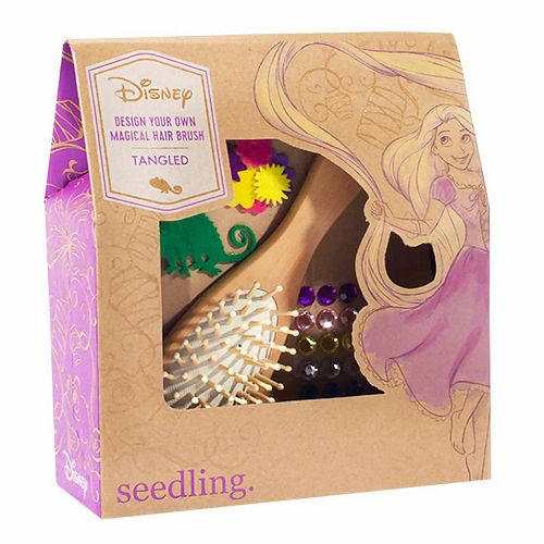 Disney Princess Rapunzel Design Your Own Magical Hair Brush Kit by Seedling