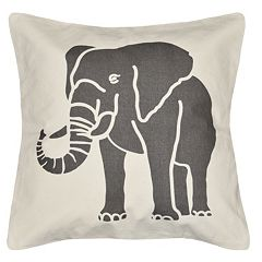 Spencer Home Decor Elephant Throw Pillow