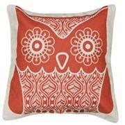 Spencer Home Decor Friendly Owl Throw Pillow