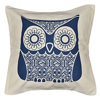 Spencer Home Decor Friendly Owl Throw Pillow