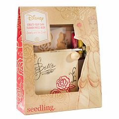 Disney Princess Belle Create Your Own Flower Press Book Kit by Seedling