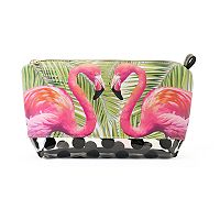 Tri-Coastal Design Flamingo Cosmetic Bag