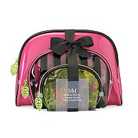 Tri-Coastal Design Pineapple Cosmetic Bag Set