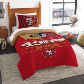 San Francisco 49ers Draft Twin Comforter Set by Northwest