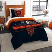 Chicago Bears Draft Twin Comforter Set by Northwest