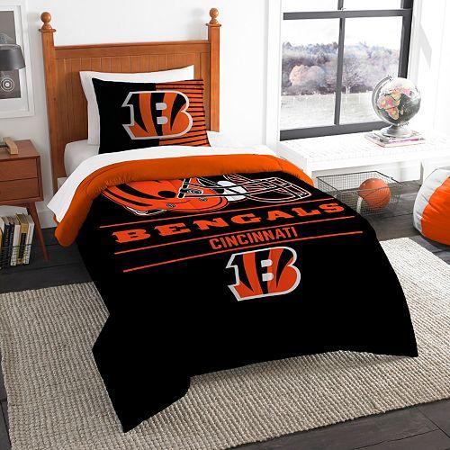 Cincinnati Bengals Draft Twin Comforter Set by Northwest