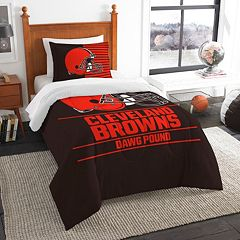 Cleveland Browns Draft Twin Comforter Set by Northwest