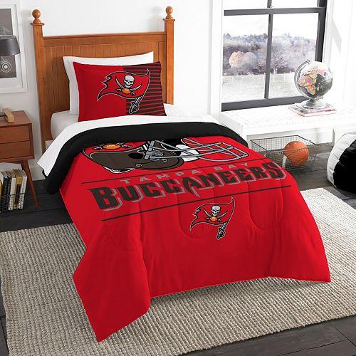 Tampa Bay Buccaneers Draft Twin Comforter Set by Northwest