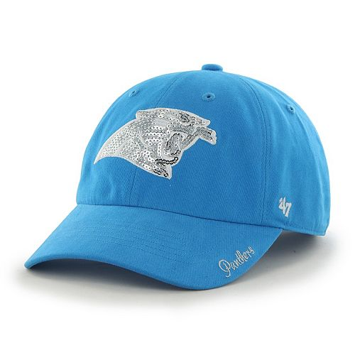 Women's '47 Brand Carolina Panthers Sparkle Adjustable Cap
