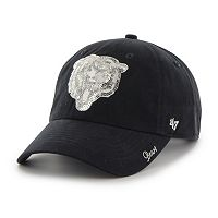 Women's '47 Brand Chicago Bears Sparkle Adjustable Cap