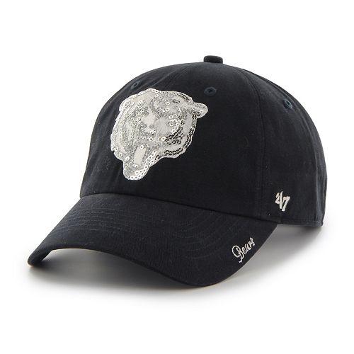 Women's '47 Brand Chicago Bears Sparkle Adjustable Cap