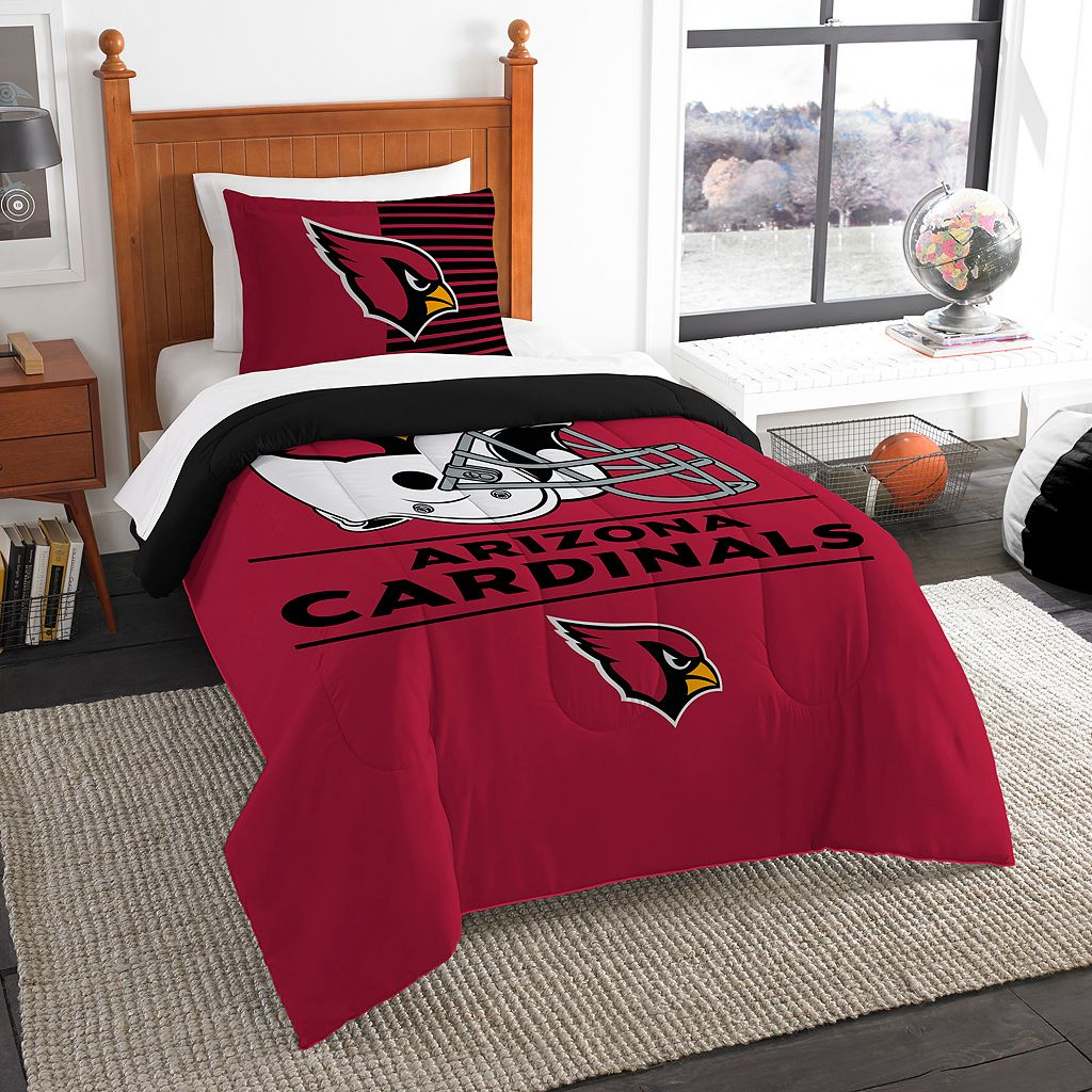 Arizona Cardinals Draft Twin Comforter Set by Northwest