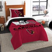 Arizona Cardinals Draft Twin Comforter Set by Northwest