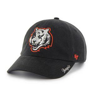 Women's '47 Brand Cincinnati Bengals Sparkle Adjustable Cap