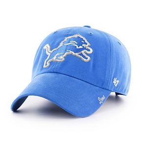 Women's '47 Brand Los Angeles Rams Sparkle Adjustable Cap