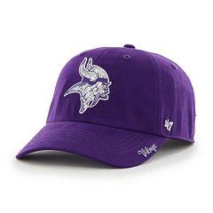 Women's '47 Brand Minnesota Vikings Sparkle Adjustable Cap