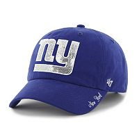 Women's '47 Brand New York Giants Sparkle Adjustable Cap