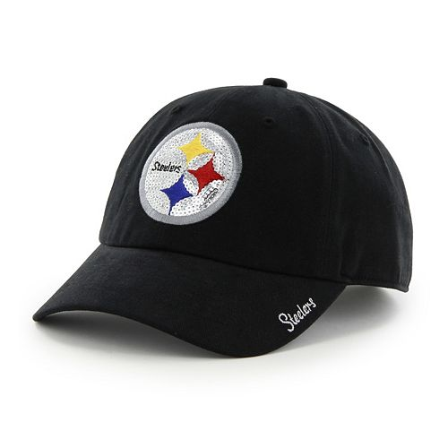 Women's '47 Brand Pittsburgh Steelers Sparkle Adjustable Cap